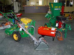 TTE Hire for garden equipment hire like compressor hire, wood chipper hire and rotary hoe hire in Traralgon, Morwell and Moe
