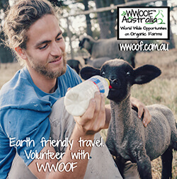 Earth friendly travel with WWOOF - World Wide Opportunities on Organic Farms