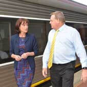 Melina Bath says an elected Liberal Nationals government will invest $633 million in new trains, including the Bairnsdale line.