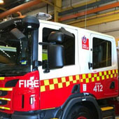 Traralgon Fire Brigade is celebrating its 130th birthday with a new heavy pumper
