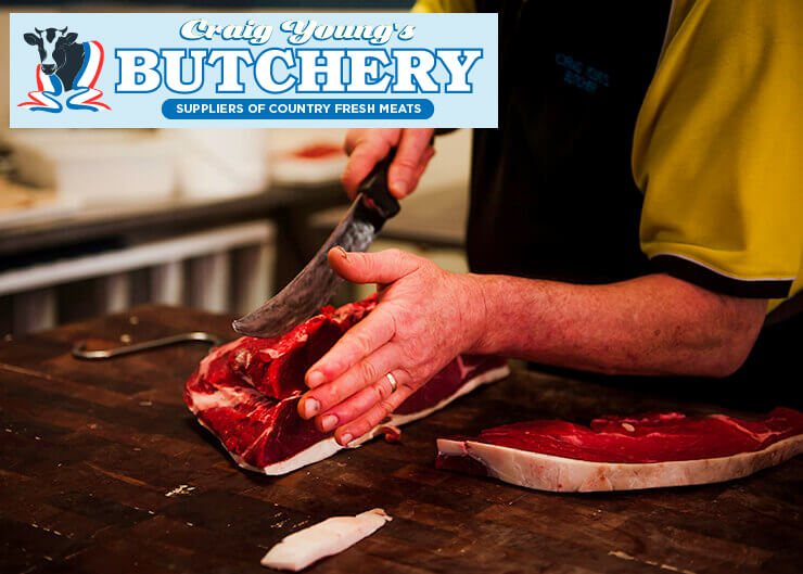 Great cuts of meat and value for money at Craig Young's Butchery in Mirboo North