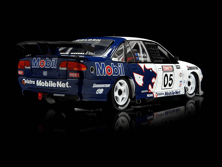 Check out this Peter Brock Mezera scale model (classic Australian racing car) from Diecast Addicts in Traralgon, Gippsland