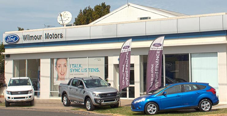 Looking to buy a new car or used vechile in the Maffra area - Wilmour Motors, your local Ford dealership